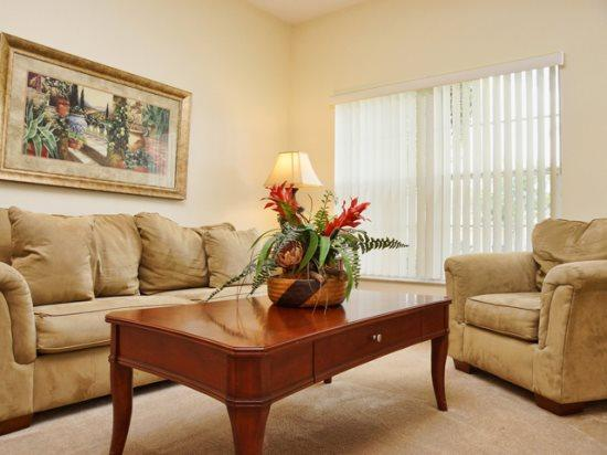 Living Area - LPH5P638KD Luxurious 5 BR Villa Close to Famous Attractions - Orlando - rentals