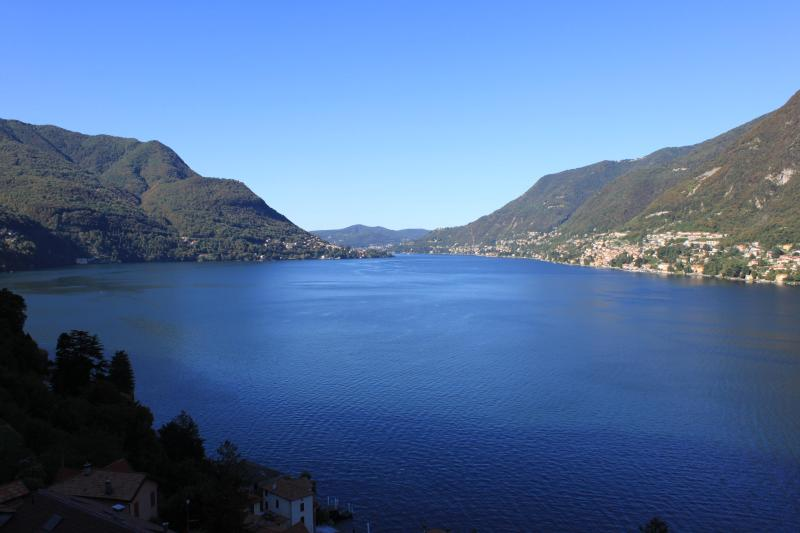 Amazing Pognana Lario...... with Spectacular Lake Como Views ...Minutes from Como Centro - Villa Azzurra - The Best views of Lake Como! - Pognana Lario - rentals