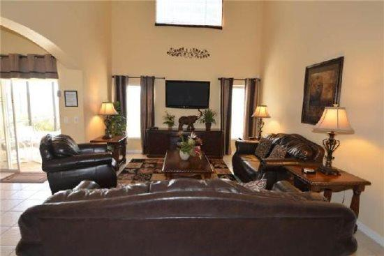 Beautiful 5 Bedroom Pool Home in Solana Resort Community - Image 1 - Orlando - rentals