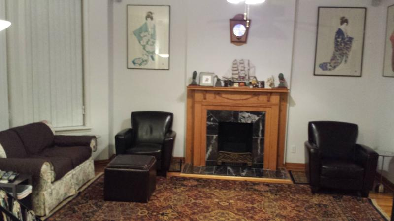 Seating area in our living/entertainment room.  The room is so large that we need 2 pictures. - Memories for Your Entire Life.   What Happens in Chicago Stays With You !!! - Chicago - rentals