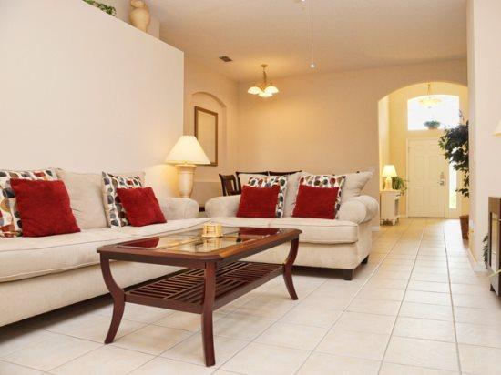 Living Area - HR4P364BD 4 BR Modern Pool Home Close to Disney World - Orlando - rentals