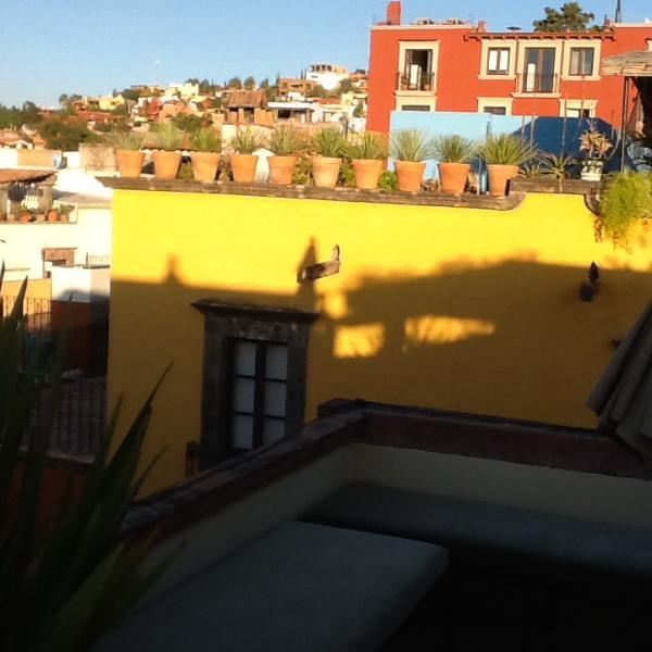 View from upper terraza - Centro Historico Casa with Views! ( 3 bdrm/ 3 1/2 bath) - San Miguel de Allende - rentals