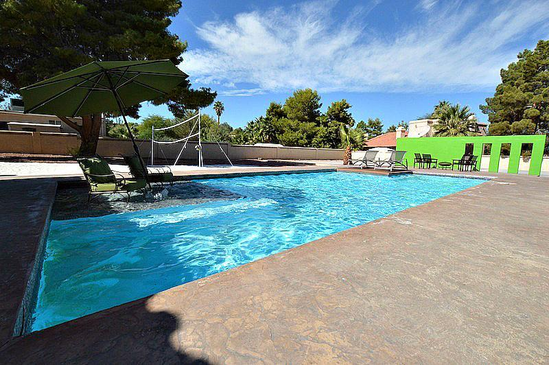 1 acre lot private pool, spa, beach volleyball! NV58 - Image 1 - Las Vegas - rentals