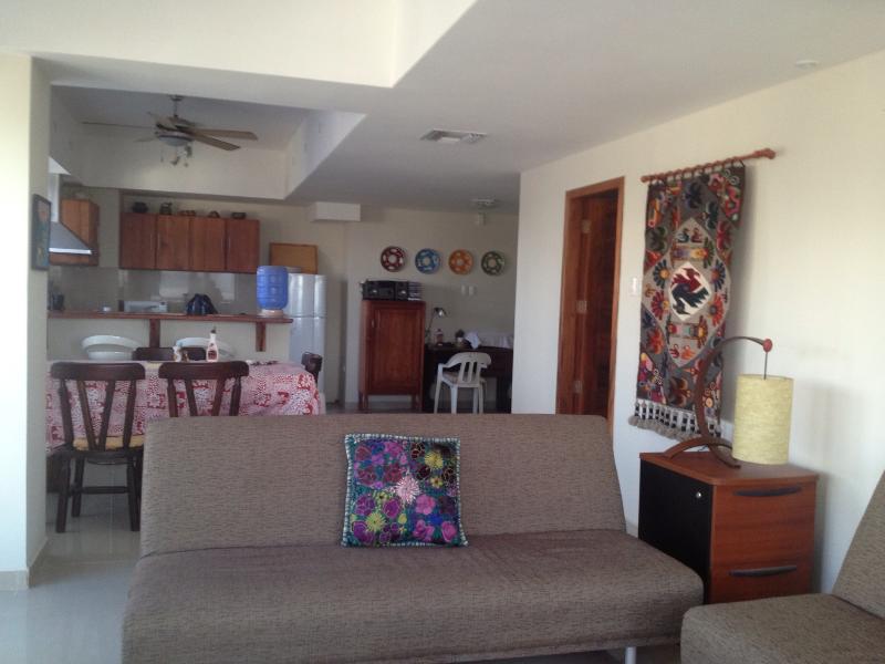 Beach Front One bedroom Apartment OBT - Image 1 - Bahia de Caraquez - rentals
