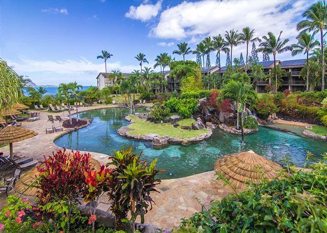 Hanalei Bay Resort #8132: 1 Bedroom / 1 Bathroom Ocean View - Image 1 - Princeville - rentals