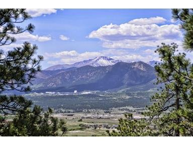 AFA and Pikes Peak view from home - Views of Air Force Academy and Pikes Peak - Monument - rentals