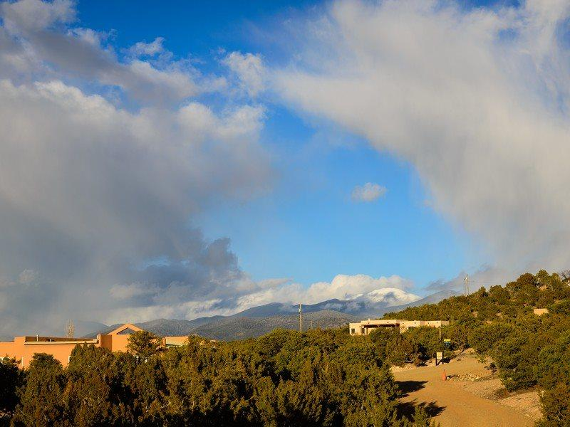 Twilight features wonderful views - Two Casitas- Twilight -Captivating Sunsets, Peaceful Retreat - Tesuque - rentals