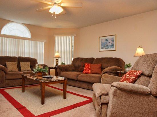 Living Area - VIC3C3159BB-A 3 BR Condo with Hi-Speed Internet Near Disney - Orlando - rentals