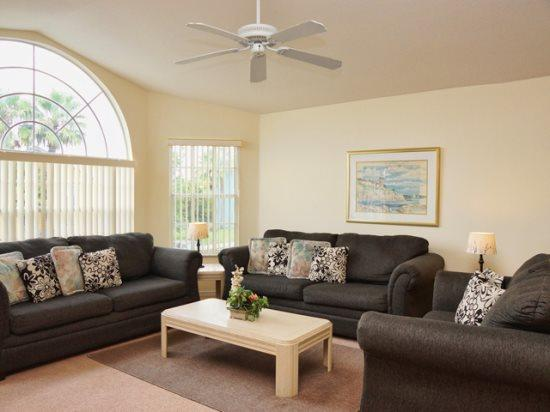 Living Area - VIC3C3143BB-C 3BR Spacious Condo Comes with Modern Amenities - Orlando - rentals