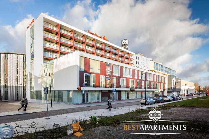 New building in Pärnu - Pärnu apartment with balcony & sauna - Parnu - rentals