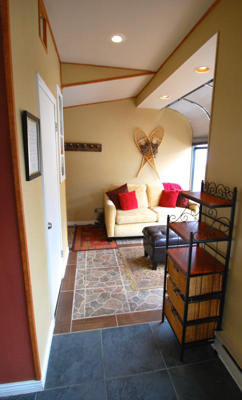 2nd living area w/new queen sleeper on order (6/2017). Cozy fireplace room w/Buffalo Mtn. views! - ALL-NEW SLOPESIDE 2760! PRISTINE CONDO, DECK, FIREPLACE, GARAGE, HUGE VIEWS! - Keystone - rentals