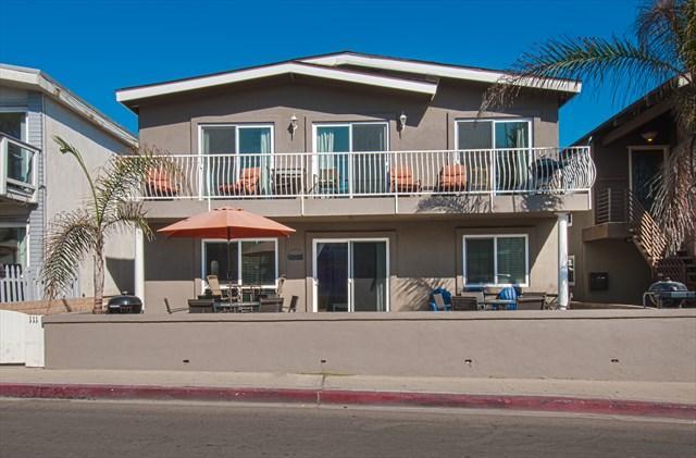 Front - 111 A 42nd Street- 2 Bedroom 1 Bath - Newport Beach - rentals