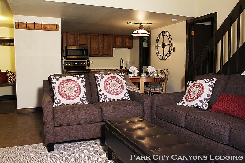 Livingroom and kitchen - Red Pine O6 - Park City - rentals