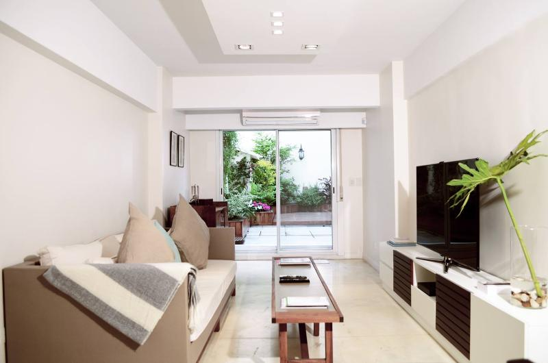 Modern 1 Bedroom Apartment with Large Terrace in Recoleta - Image 1 - Buenos Aires - rentals