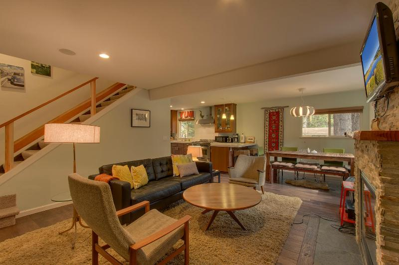 Beautifully Renovated Woodsy cabin near Heavenly - Image 1 - South Lake Tahoe - rentals