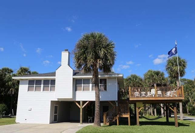 "1001 Palmetto Blvd - ""The Mermaid & Her Minnows"" - Image 1 - Edisto Beach - rentals"