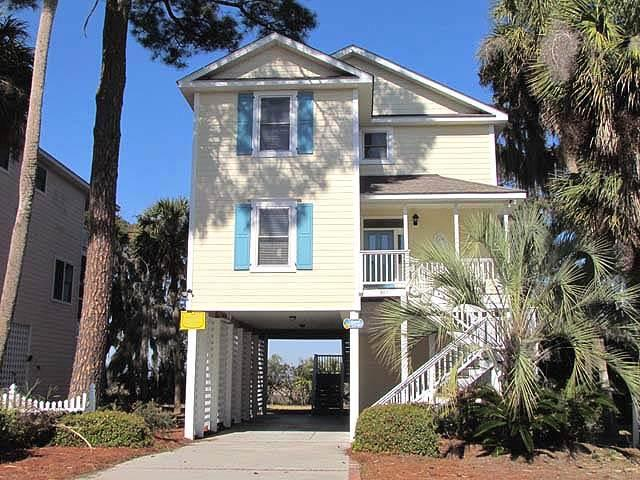"805 Jungle Shores Dr - ""Sunset Terrace"" - Image 1 - Edisto Beach - rentals"