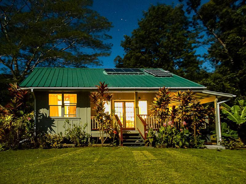 Romantic Honeymoon Cottage 8 acres Wi-fi solar - Image 1 - Pahala - rentals