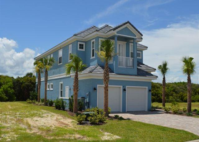 Sunset Blue - Magnificent Beach Home in Cinnamon Beach at Ocean Hammock! - Image 1 - Palm Coast - rentals