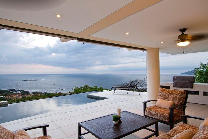 Amazing views that go on forever at Villa Paraiso - Villa Paraiso, Amazing 8 BR Ocean VIew Luxury Villa, -20% off through Green Season! - Tamarindo - rentals