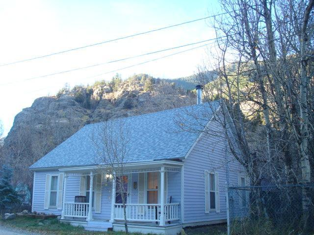 LITTLE VICTORIAN COTTAGE ON CLEAR CREEK 2 BD/1 BA, MOUNTAIN/HILL VIEW - LIL COTTAGE: SKI LOVELAND, RAFT CLEAR CREEK - Silver Plume - rentals