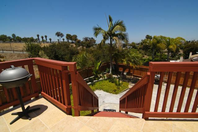 VIEW FROM TERRACE OF HIDEAWAY - Hideaway - Oceanside - rentals