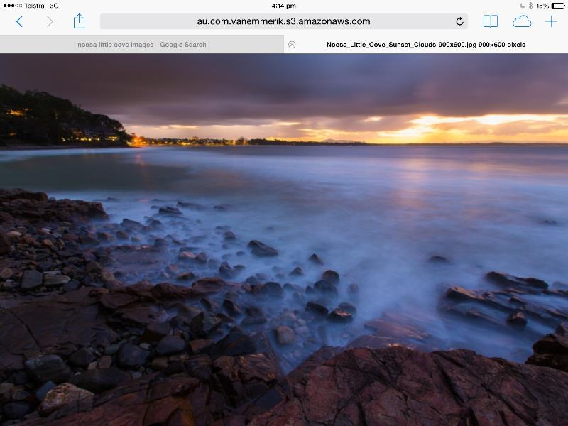 A photographers delight every evening. - Little Cove Noosa 2 bed 2 bath front row position. - Noosa - rentals