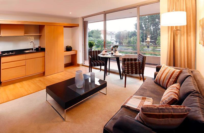 Sleek Studio Apartment in Santa Barbara - Image 1 - Bogota - rentals
