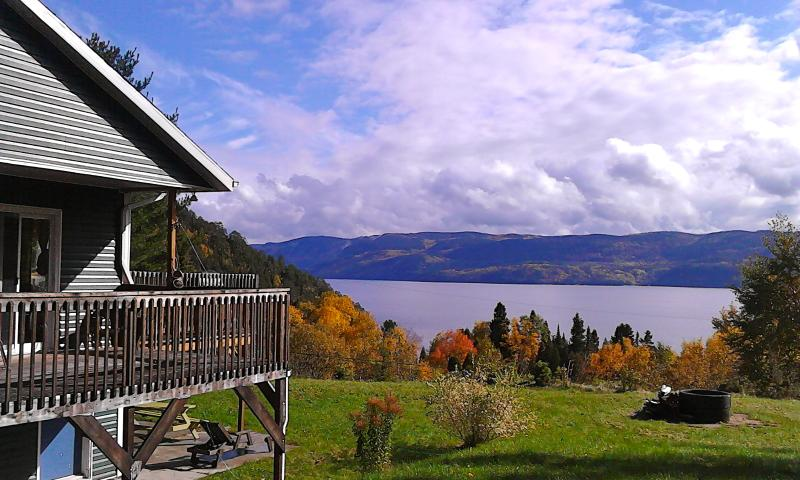 Splendid Panorama Fjord Saguenay! Mountain retreat - Image 1 - Sainte-Rose-du-Nord - rentals