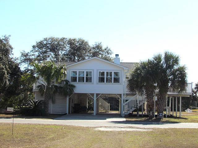 """2602 Myrtle St - """"Sea Star Beach Cottage"""" - Image 1 - Edisto Beach - rentals"""