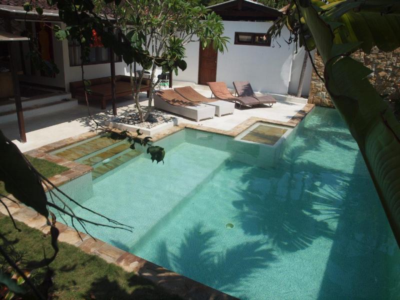 Pool view - Villa Staman Asri quiet v near beach shops restos - Seminyak - rentals