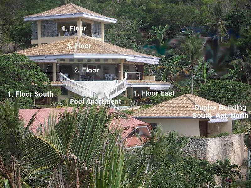 Aerial view - Sunrise Palais Boracay 7 bedroom Villa with Pool - Philippines - rentals