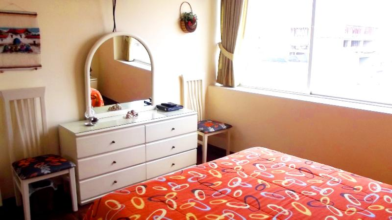 Queen bed mirafloresapt.hot.to - Apartment for tourists in Miraflores, Lima - Peru - Lima - rentals