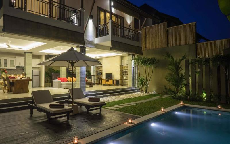 General View - Kumpi, Luxury 2 BR Villas,  Central Seminyak - Seminyak - rentals