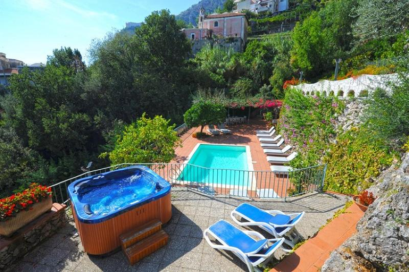I Giardini dell' Eden with pool and jacuzzi - Villa I Giardini dell'Eden - Vettica di Amalfi - rentals