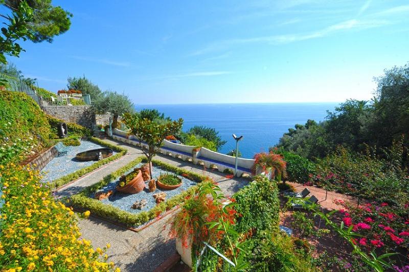 I Giardini dell'Eden with view - Villa I Giardini dell'Eden - Vettica di Amalfi - rentals