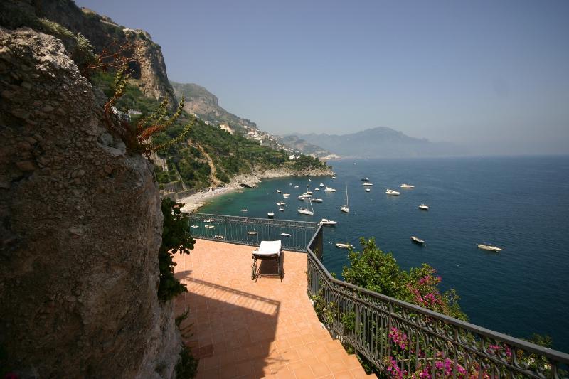 Terrace with view - Villa Oriana - Conca dei Marini - rentals