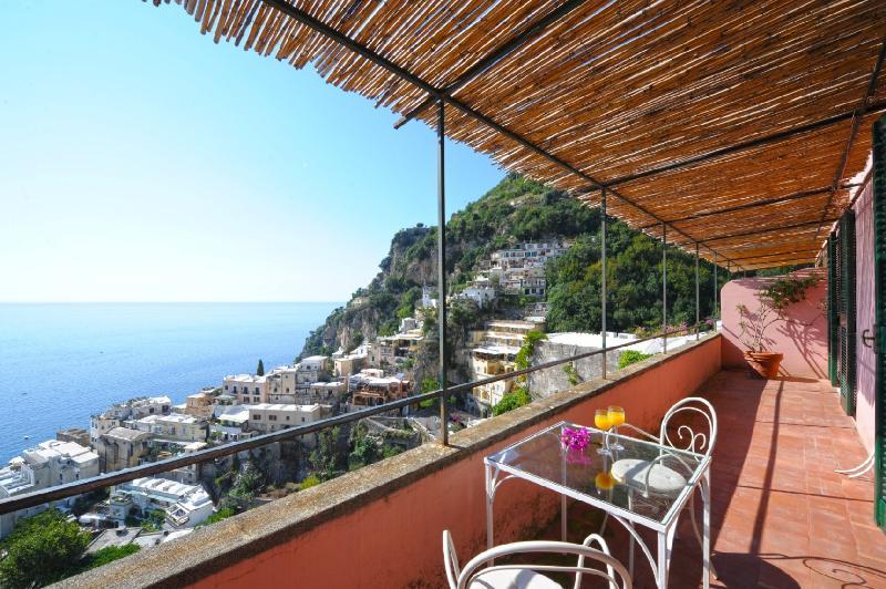 Balcony second level - Villa Petali di Rosa - Positano - rentals