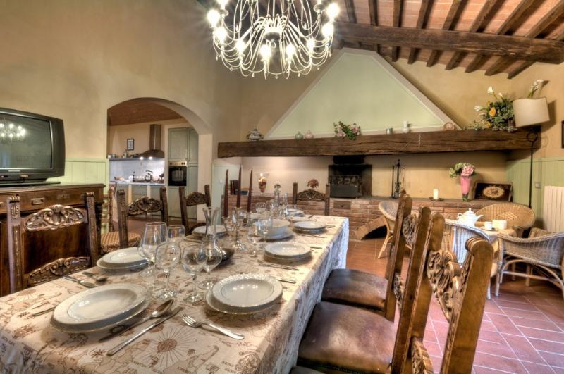 Dining room - Villa Palaia - Pisa - rentals