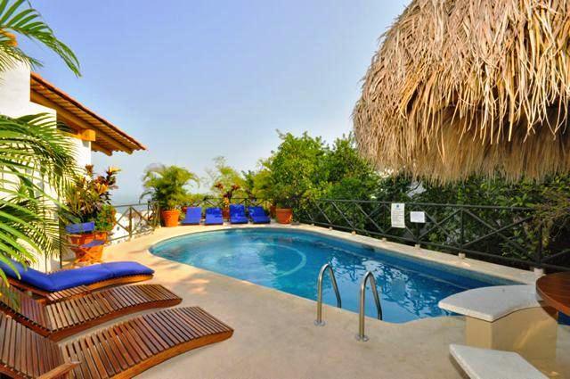 Common Area Pool - Montimar 7 (Condo Jorge) - Puerto Vallarta - rentals