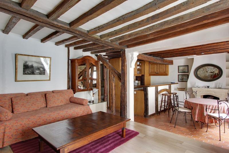 Charming One Bedroom Mazarine Odeon St Germain - Image 1 - Paris - rentals
