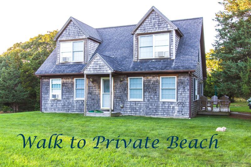 Walk to Private Beach - ABBOP - WALK TO PRIVATE BEACH, WIFI INTERNET, AC - West Tisbury - rentals