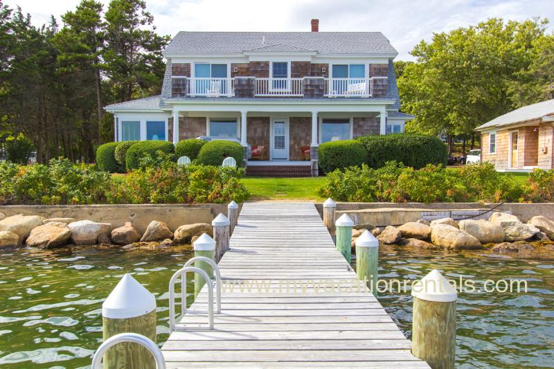 House and Dock - EWARO - Gorgeous Harborfront Home with Private Dock, Walk to Beach and Town - Oak Bluffs - rentals