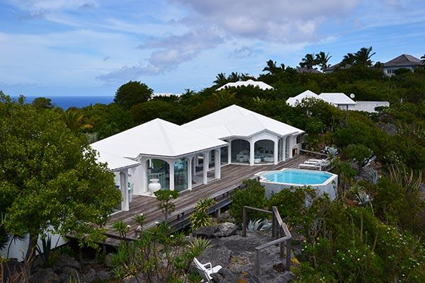 Very private and unique villa with wonderful views of Colombier WV BYZ - Image 1 - Colombier - rentals