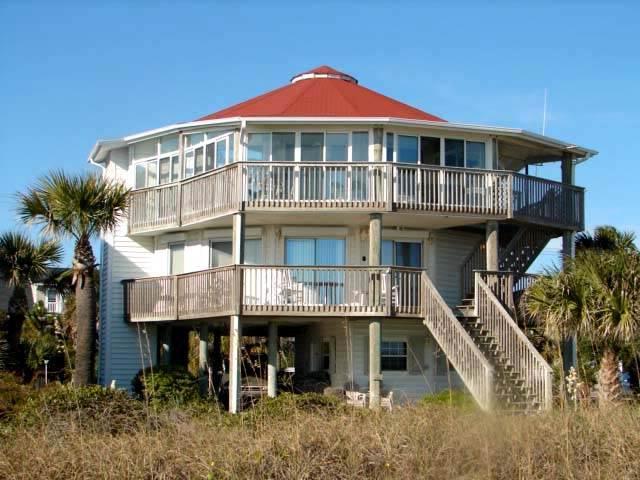 """1506 Palmetto Blvd - """"A Round  Edisto"""" - Image 1 - Edisto Beach - rentals"""