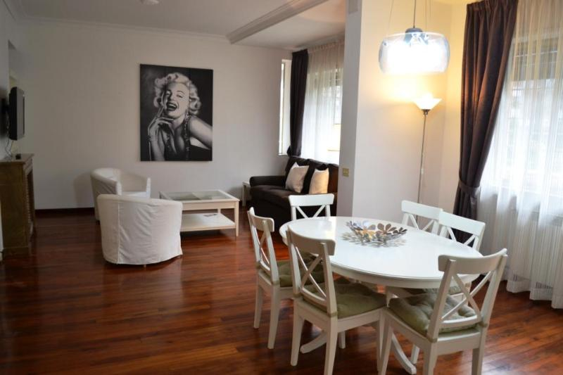 HUGE LIVING ROOM - Vatican St Peter, ELEGANT APARTMENT up to 8 people, WIFI, SAT TV, air conditioning, garage - Rome - rentals