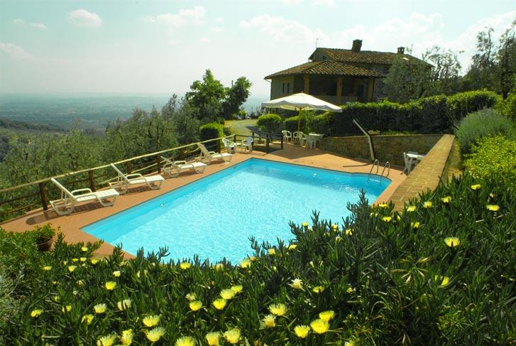 Country house near Florence Swimming Pool - TFR5 - Image 1 - Larciano - rentals