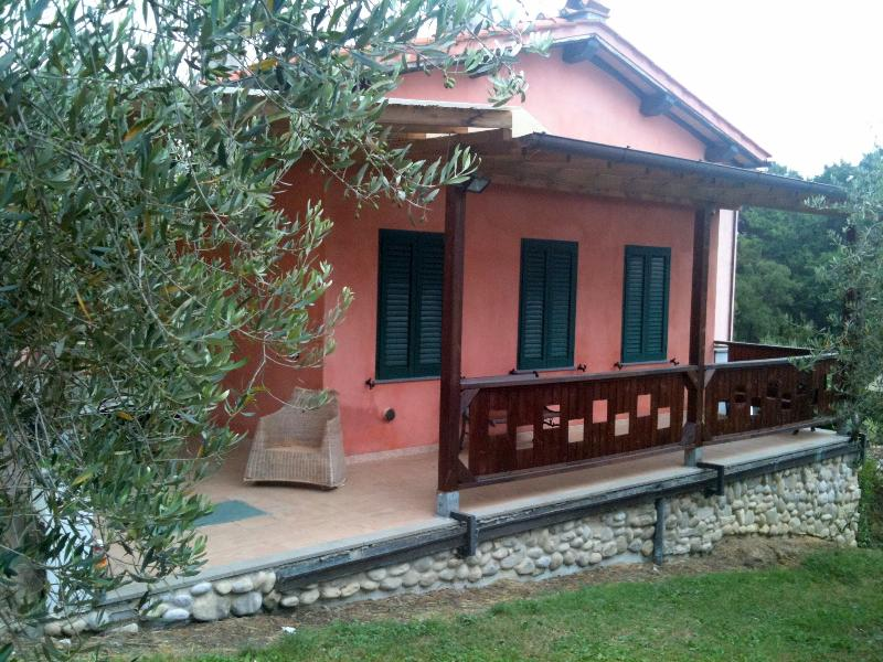 Terrace view - Lucca countryside house WiFi Olive Groves - TFR4 - San Macario in Monte - rentals