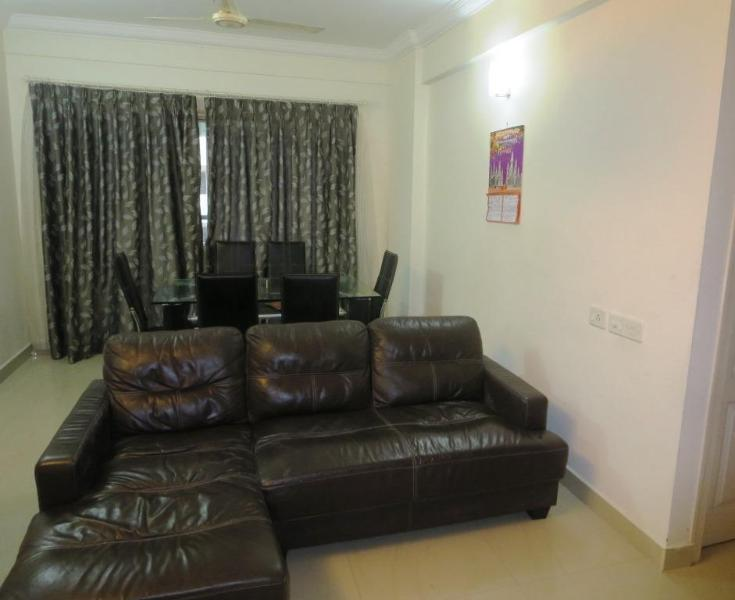 Living/Dining - Vaccationhomes A/C apartment for short stay kochi - Ernakulam - rentals