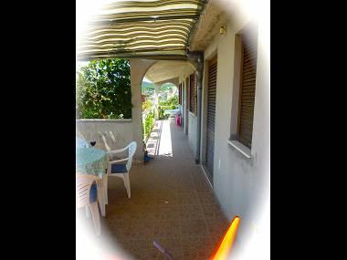 A2(2+1): terrace - 7773  A2(2+1) - Vinisce - Vinisce - rentals